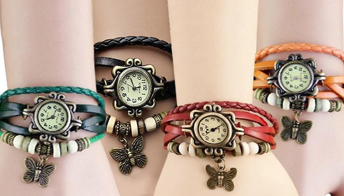 Quartz Vintage Watch - 4 Colours