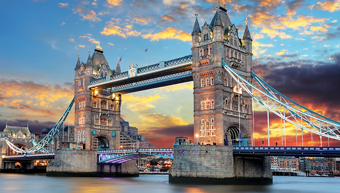 1-2 Night 4* Hotel Stay with Breakfast & Romantic Thames River Cruise from OMGhotels.com Limited