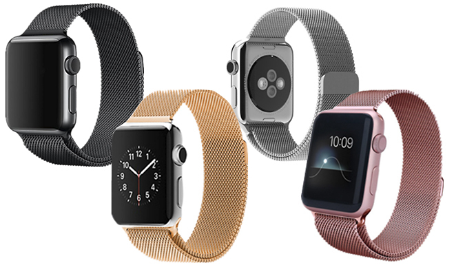 Compatible Apple Watch Magnetic Stainless Strap cheapest retail price
