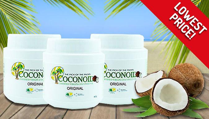 DDDeals - Organic Sri Lankan 'Coconoil' Coconut Oil