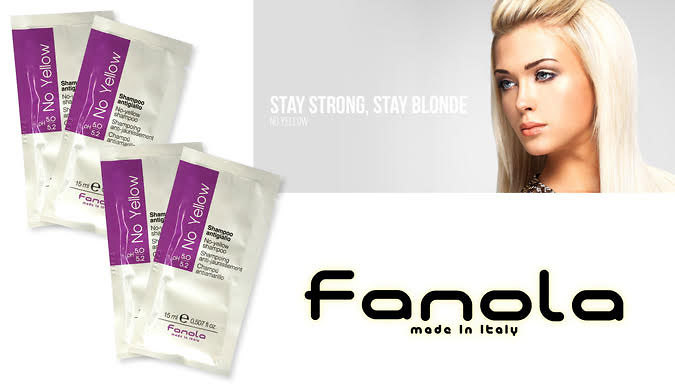 Fanola No Yellow Hair Treatment With Application Gloves