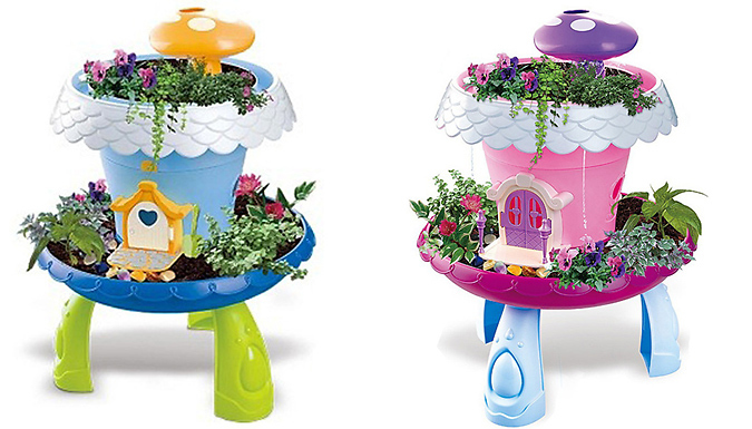 Grow-Your-Own Fairytale Cottage Play Set With Lights & Sound - 2 Colours