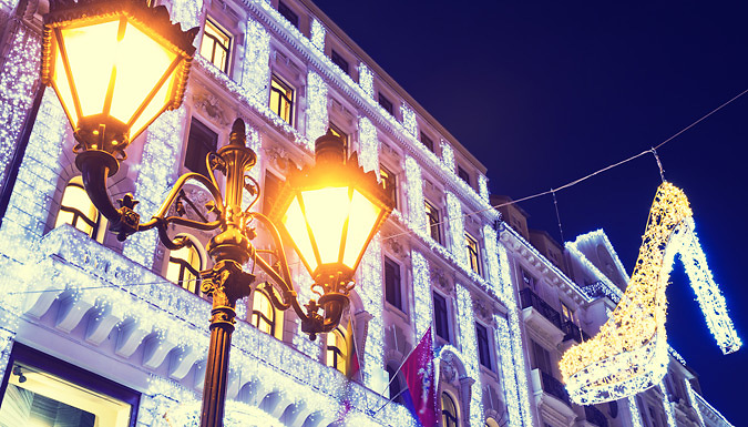 2-4 Night 4* Christmas Break With Breakfast, Hotel & Flights from Travelodeal Limited