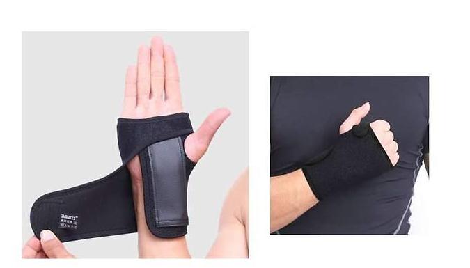 Wrist Support with Aluminium Stabilising Bar (£5.99)