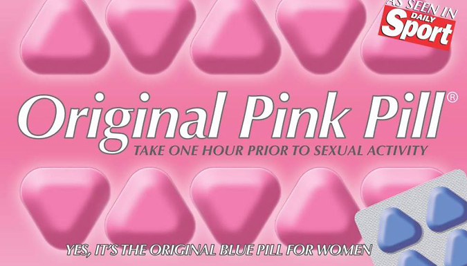 Original Pink or Blue Pill - 20 or 30-Pack from UK READER PROMOTIONS LTD
