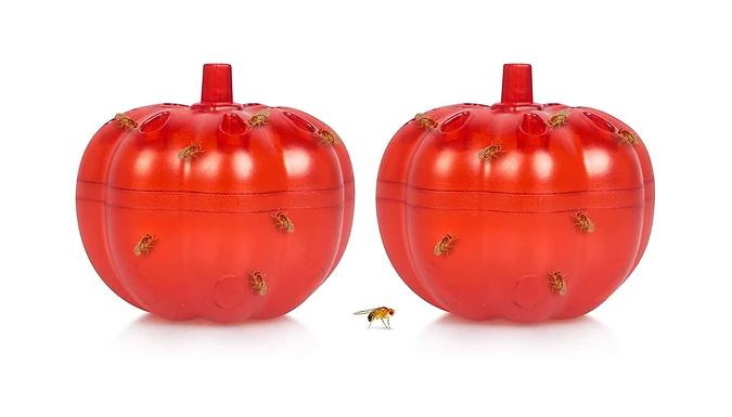 2Pack Fruit Fly Traps Kitchen Gnat Killer  2 Colours