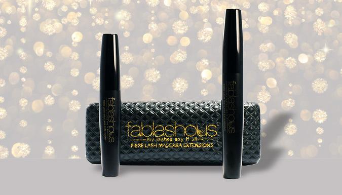 DDDeals - 'Fablashous' 3D Fibre Lash Mascara Duo Set