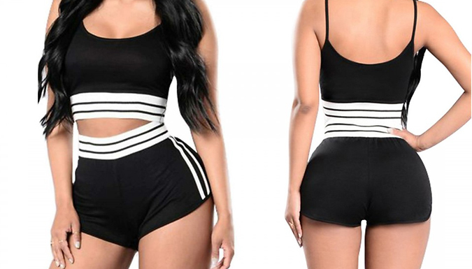 Co-ord Sports Bra & Shorts Set - 3 Colours & 3 Sizes from PinkPree