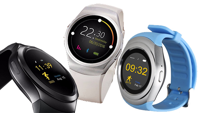 iTouch Pro GPRS Smart Watch  3 Colours