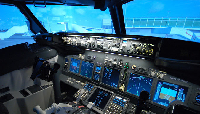 30 or 60-Minute Boeing 737 Flight Simulator Experience - Jet Sim School, Peterborough