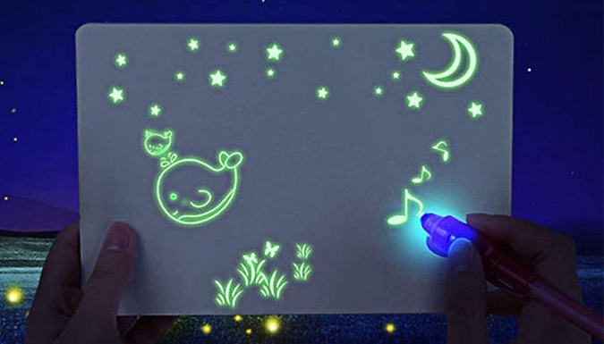 Kid's Luminous Drawing Board