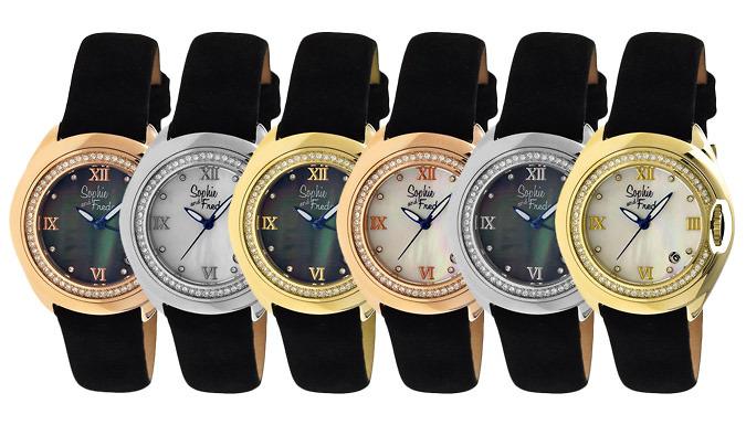 Sophie & Freda Belize MotherofPearl Watch  6 Designs