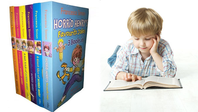Horrid Henry 6 Book Collection