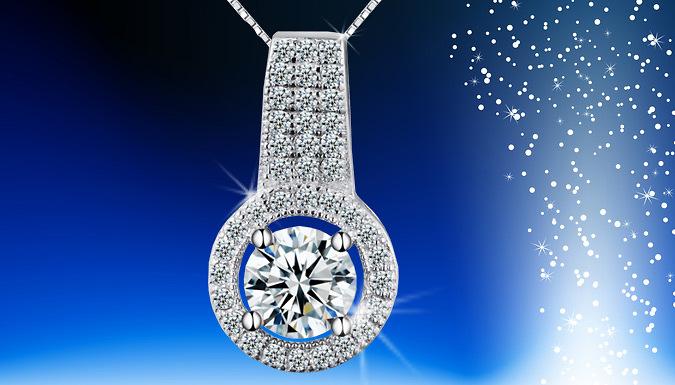 \'Hannah\' Crystal Cut Necklace