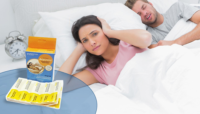 Acusnore Anti Snoring Strips