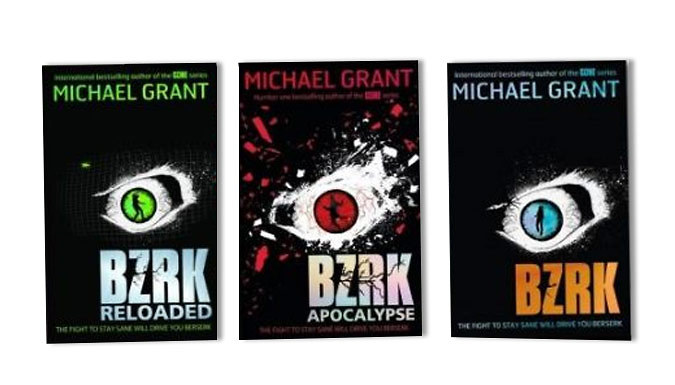 Michael Grant BZRK 3-Books Collection