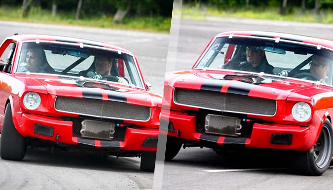 1, 3 or 6-Lap 1965 Ford Mustang Driving Experience - 7 UK Locations