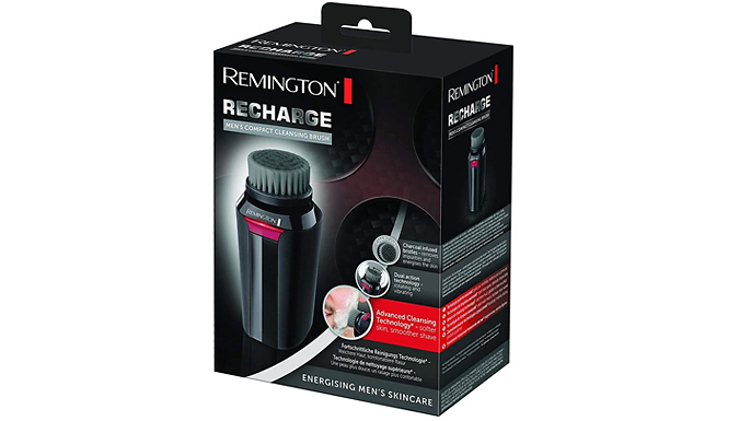 Remington Recharge Men's Compact Cleansing Brush