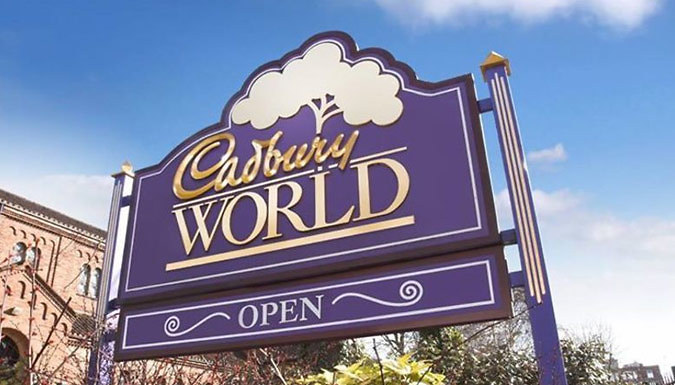 DDDeals - Birmingham, West Midlands: 1-Night Stay For Family of up to Four with Cadbury World Tickets - Save Up To 30%