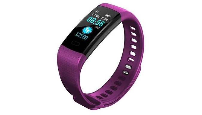7-in-1 Y5 Fitness Tracking Smartwatch