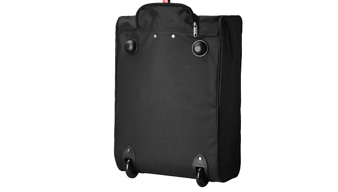 Cabin-Approved Wheeled Suitcase - 4 Colours from Fusion