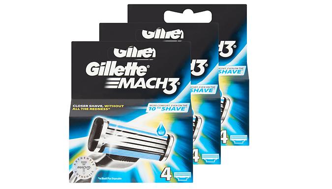 Gillette Mach 3 Blades - 4, 8, 16 or 32 Pack