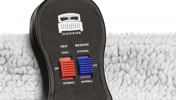 Dickens Heated Foot Warmer & Massager - 2 Colours from Fusion