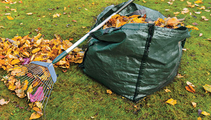 2-Pack of 150L Garden Waste Storage Bags