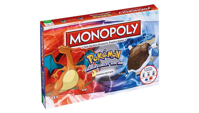 Pokemon Monopoly: Kanto Region Edition