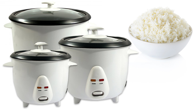 NonStick Electric Rice Cooker  3 Sizes