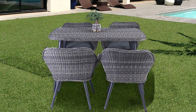 Rattan Wicker Table Set (£339)