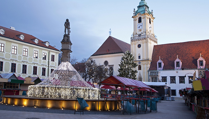 2-3 Night Christmas Market Break with Hotel & Flights from Worldwide Tours & Travel