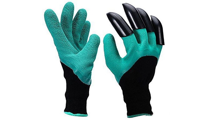 Multi-Functional Garden Claw Gloves - 1 or 2 Pairs