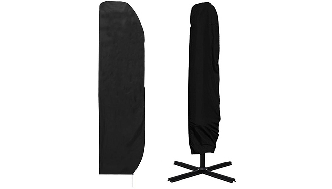 Garden Parasol Waterproof Cover With Storage Bag - 3 Sizes