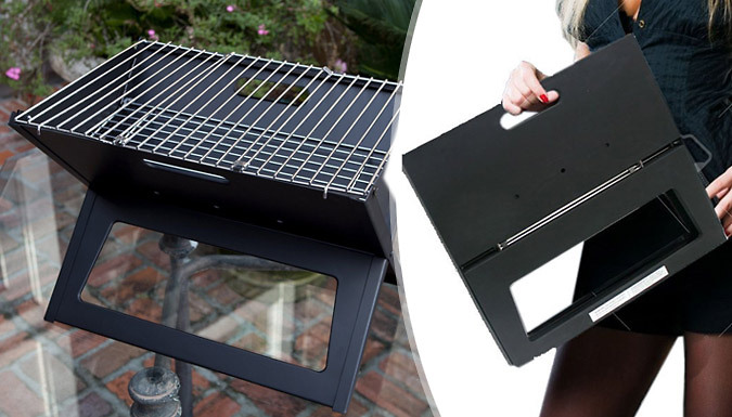 Image of 18inch Portable Folding Travel Grill