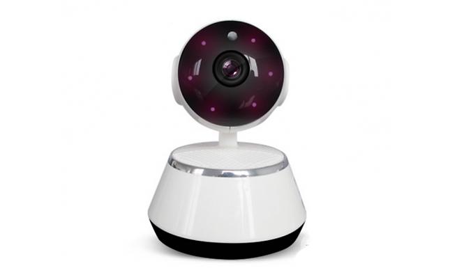 HD Home Security Surround Motion-Sensor Camera & Intercom