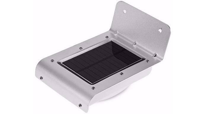 LED Solar Motion-Sensor Security Light