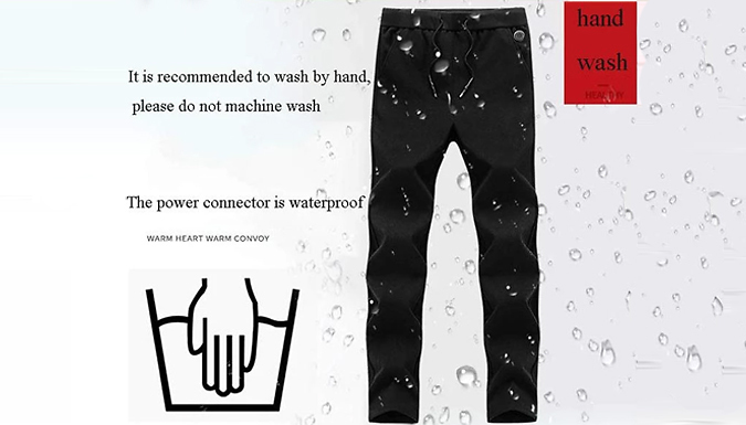 Smart USB Heated Electric Trousers - 5 Sizes