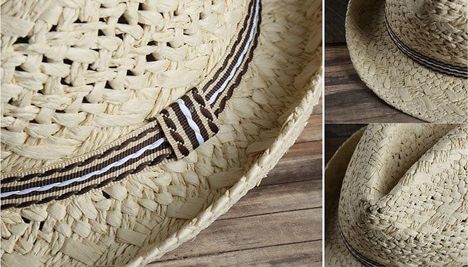 Hand-Woven Sun Hat - 2 Colours