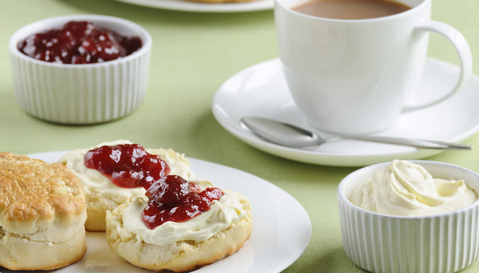 Classic Afternoon Tea for Two at the Plough and Harrow Hotel, Birmingham