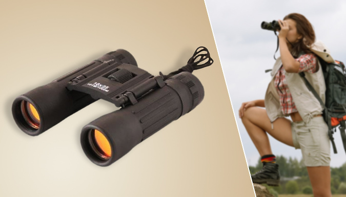 Save on Binoculars with 10 x Zoom from Go Groopie