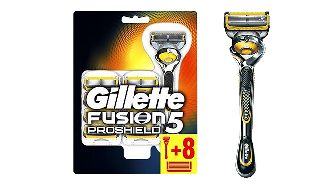 Gillette Mach 3 or Fusion Razors with Blades - 3 Options