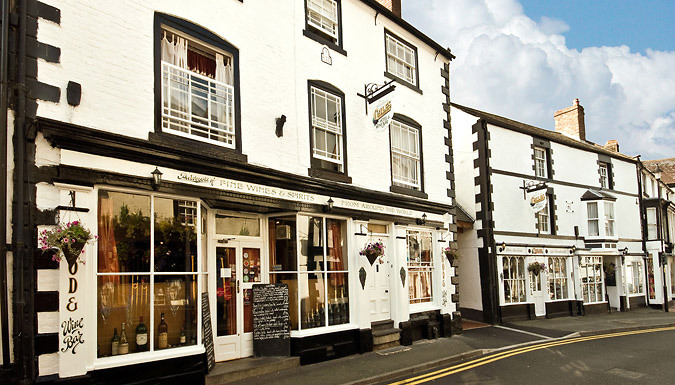 DDDeals - Llangollen, Wales: 1-2 Night Stay With Wine Tasting