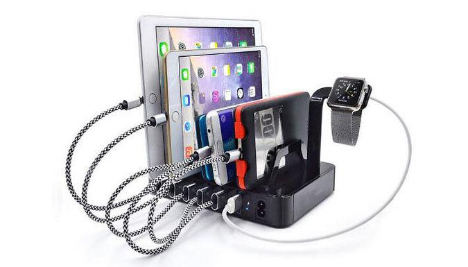 6-USB Charging Dock - Buy 1 or 2
