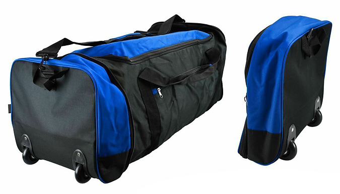 80L Expandable & Foldable Wheeled Travel Bag - 3 Colours
