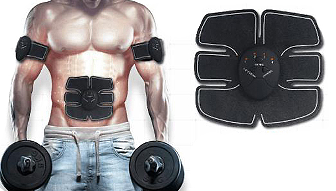 Electric Abs Simulator With Arm Pads
