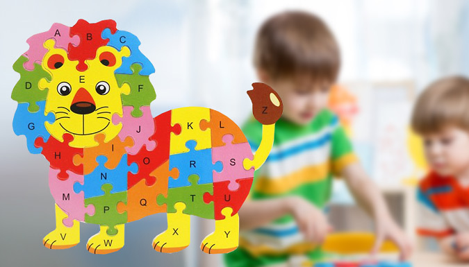 3D Wooden Educational Animal Puzzle