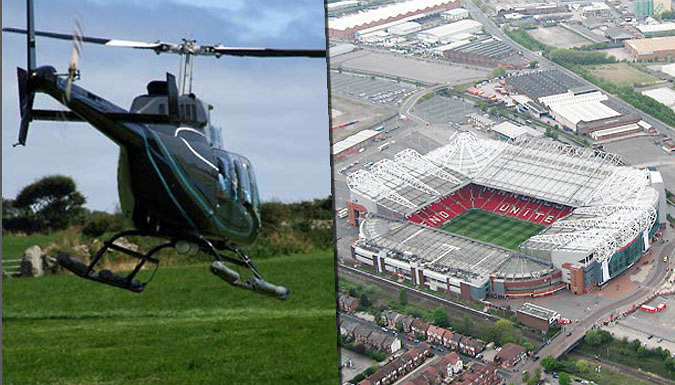 Football Stadium Helicopter Tour - 12 Locations