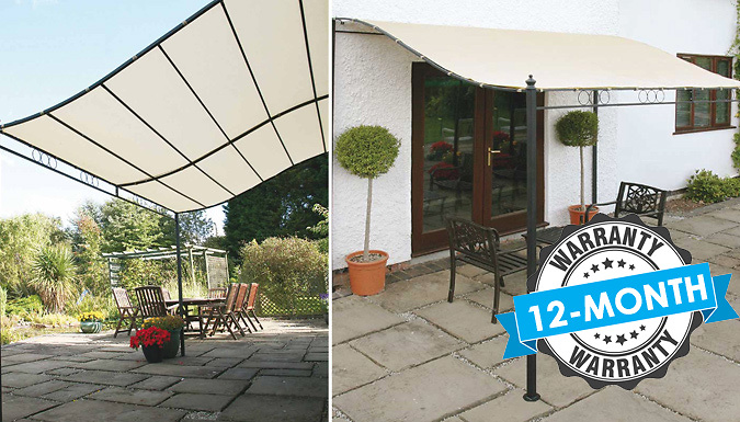 Easy-Fit Wall-Mounted Gazebo - 2 Sizes