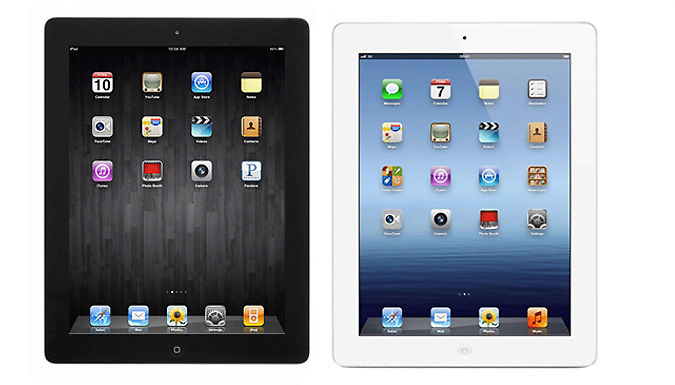 Apple iPad 4 With 16GB - 2 Colours cheapest retail price